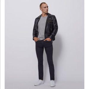 BLDWN Modern Slim Jean in Smoke 33x32